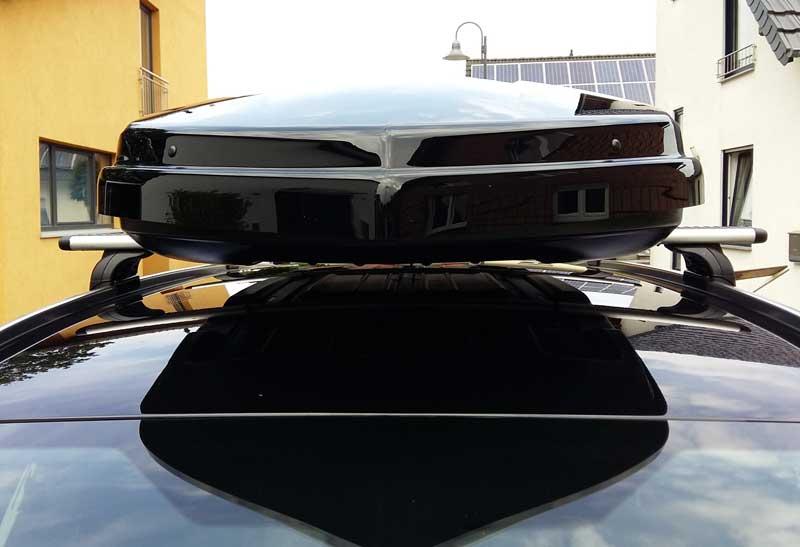 Dachbox Frontansicht