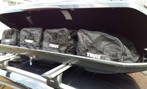 praxistest thule dynamic auto dachboxen ratgeber. Black Bedroom Furniture Sets. Home Design Ideas